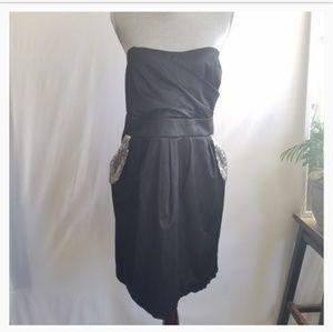 Torrid Strapless Sequined Dress 18